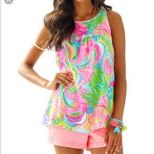 Lilly Pulitzer Flutter Top